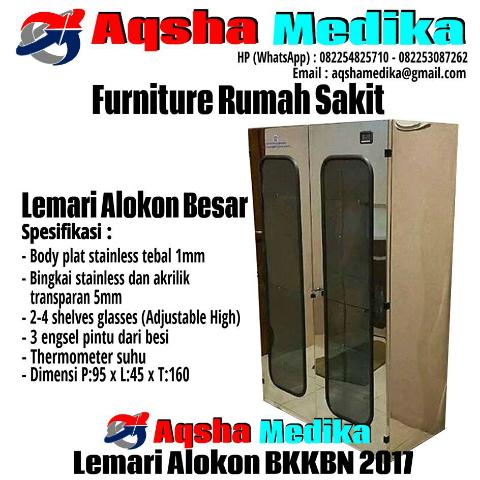 Lemari Alokon BKKBN 2017 - Aqsha Medika Group