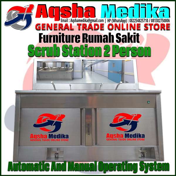 Scrub Station 2 Person Automatic And Manual Operating System