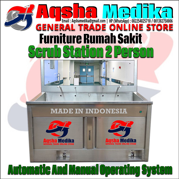 crub Station 2 Person Automatic Manual Ruang OK Rumah Sakit