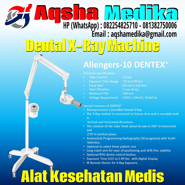 Dental X-Ray Machine Allengers-10 DENTEX plus AQSHA MEDIKA