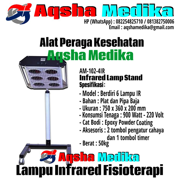 Lampu Infrared Terapi 6 Lampu - AM-102-6IR